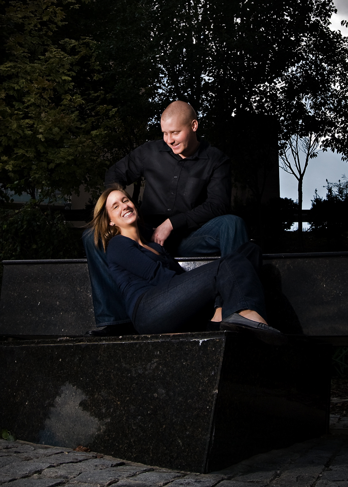 Lindsay & Terry - Windsor Ontario Engagement Photos