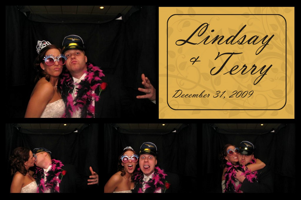 Lindsay and Terry Windsor Wedding Photobooth