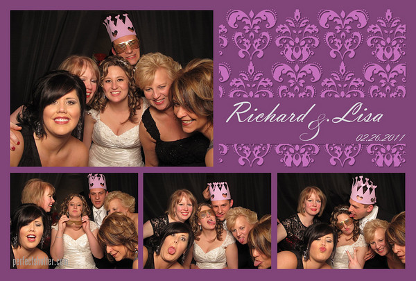Lisa & Richard's Photo Booth Rental | Windsor, Ontario