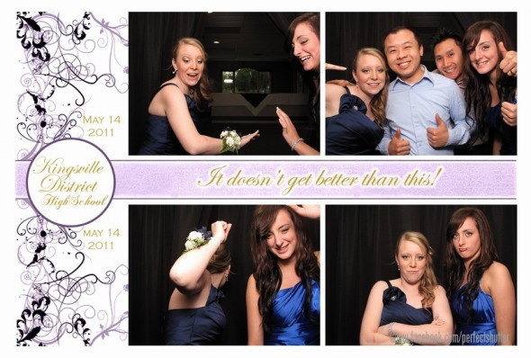 Kingsville District High School Prom | Photo Booth Rental | Kingsville, Ontario
