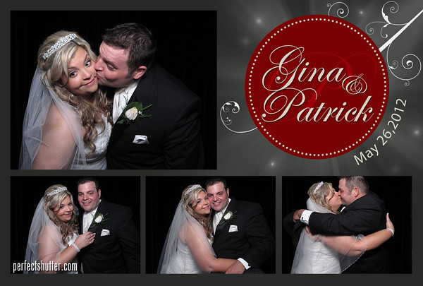 Gina and Patrick | Wedding Photo Booth Rental | Caboto Club of Windsor, Ontario