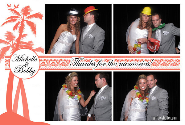 Michelle and Bobby | Wedding Photo Booth Rental | Windsor Yacht Club of Windsor, Ontario