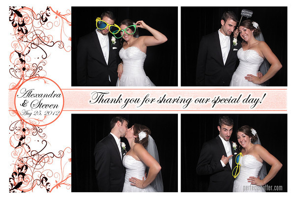 Alexandra and Steven | Amherstburg Photo Booth Rental