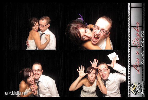 Lisa and Stephen's Toronto Photo Booth rental