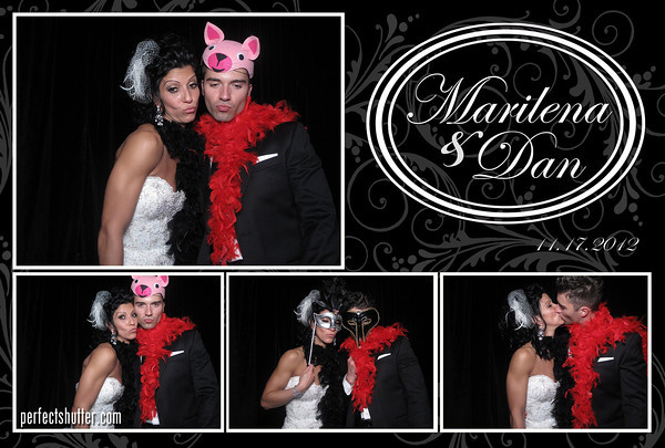 Windsor Photo Booth Rental | Marilena and Dan