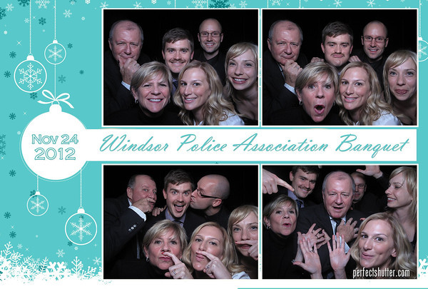 Windsor Photo Booth Rental | Windsor Police Association Annual Banquet 2012