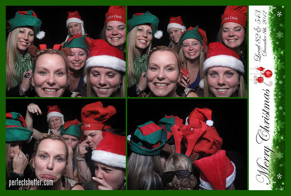 Windsor Photo Booth Rental for CUPE 82 and 543 Christmas Party