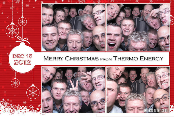 Windsor Photo Booth Rental | Thermo Energy Christmas Party