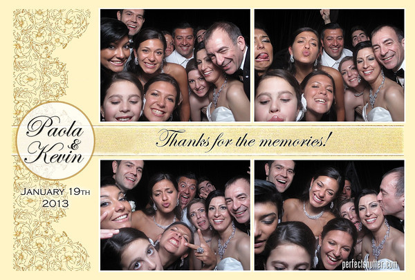 Windsor Photo Booth |Paola and Kevin's Wedding