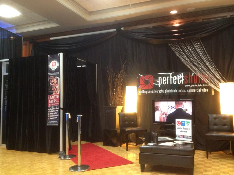 Windsor Photo Booth at 2013 Wedding Extravaganza - Perfect Shutter