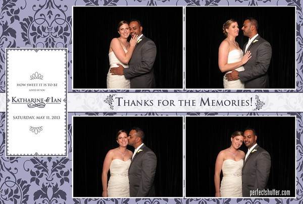 Toronto Photo Booth - Ian and Katharine