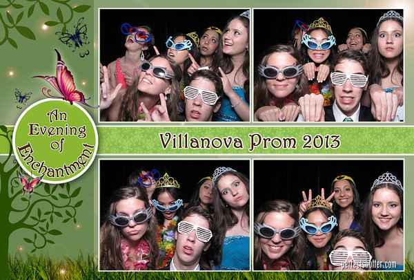 Windsor Photobooth Rental | Villanova High School Prom 2013