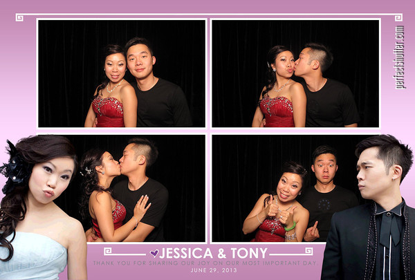 Toronto Photobooth Rental | Jessica and Tony