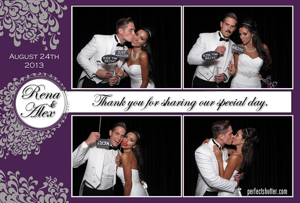 Windsor Photo booth Rental | Rena and Alex