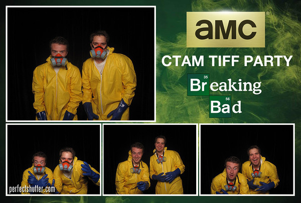 Corporate Photobooth Rental | AMC Breaking Bad Screening Party at TIFF