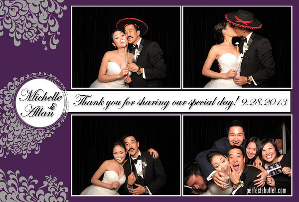 Toronto Photobooth Rental | Michelle and Allan