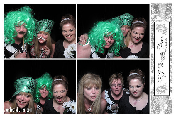 Windsor Photo booth Rental | F.J. Brennan Prom 2014