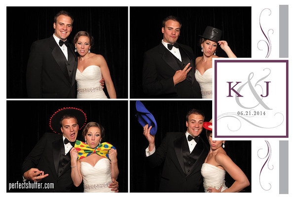 Toronto Photobooth Rental | Karen and Jamie