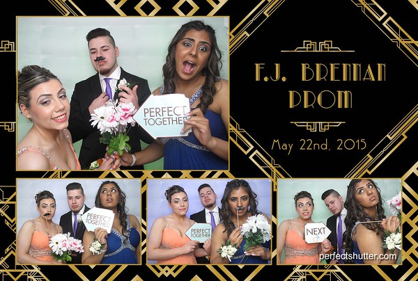 Windsor LED Inflatable Photo booth Rental | Brennan High School Prom 2015