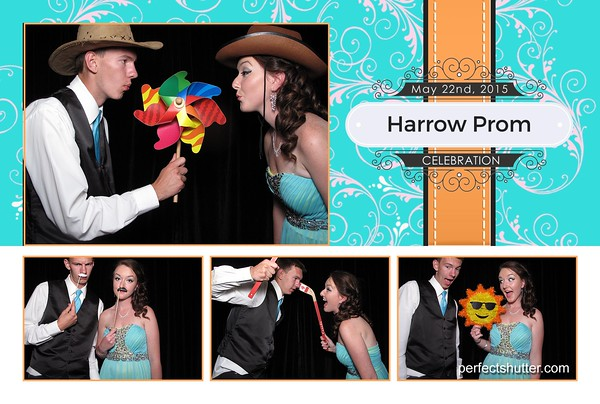 Windsor Photo booth Rental | Harrow High School Prom 2015