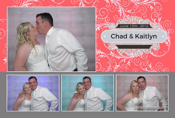 Kaitlyn and Chad's Wedding Celebration | Leamington Photobooth Rental
