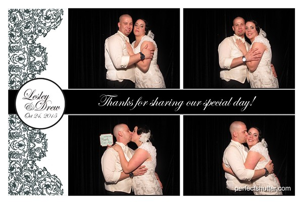 Lesley and Drew's Windsor Photobooth Rental
