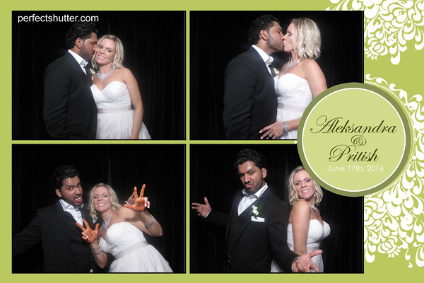A fun-filled Kingsville Photobooth Rental | Alexsandra and Pritish