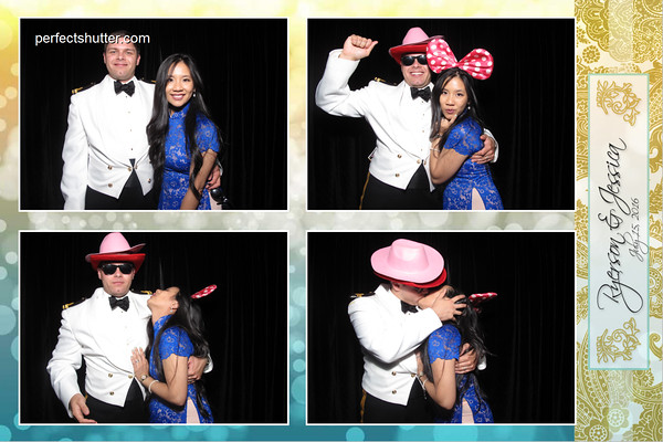Jessica and Ryerson's Windsor Photobooth Rental