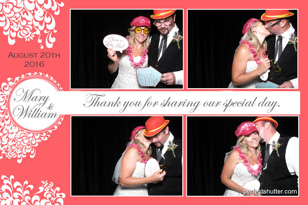 Mary and William's Wilkesport Ontario Photobooth Rental