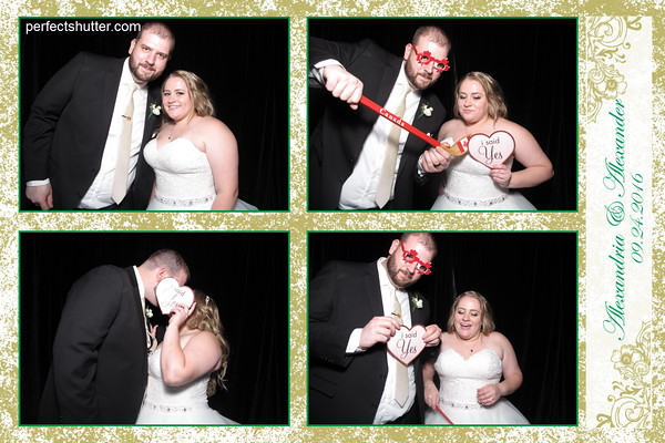 Alexander & Alexandria's Windsor Photo Booth Rental