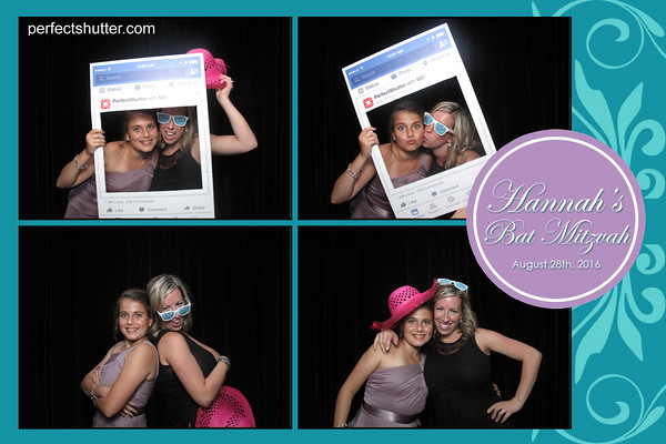 Hannah's Bat Mitzvah Photo booth Rental