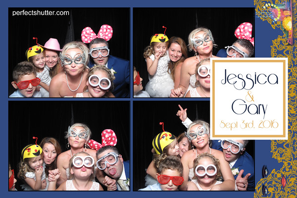Jessica and Gary's Kingsville Photobooth Rental