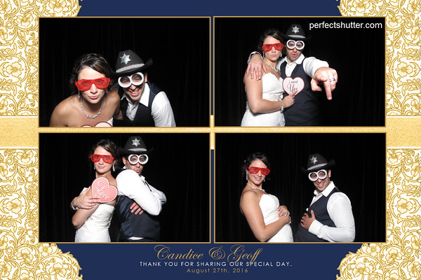 Candice and Geoff's Windsor Photo Booth Rental