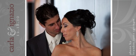 carla &amp; ignazio | stylish art gallery of windsor wedding videography
